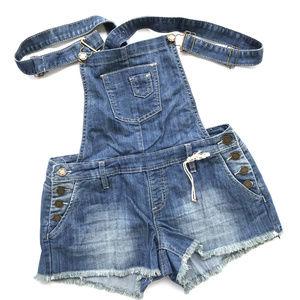 51185cc3a7de NWOT~YMI Blue Denim Overalls Shorts~SZ 9